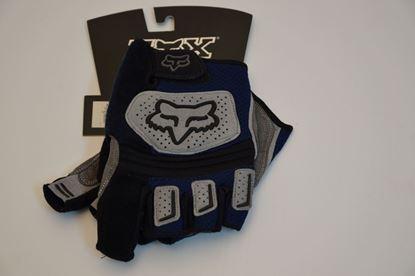 Imagem de Luvas FOX Mesa dedos cortados - Preto/Azul