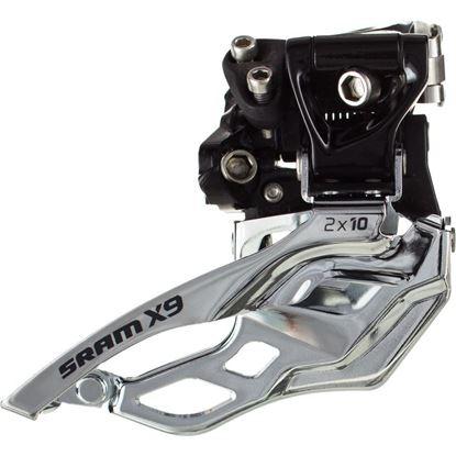 Imagem de Mudança fr. Sram X9 2x10 - down swing dual pull 34.9