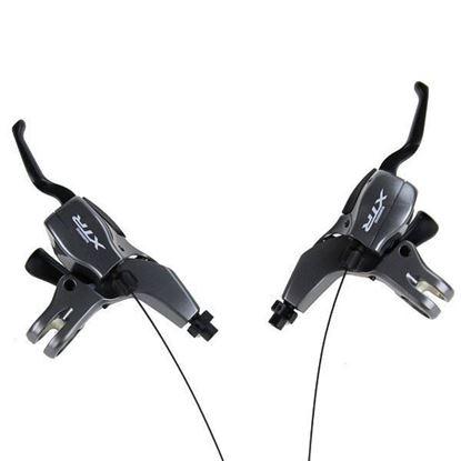 Imagem de Manetes Shimano XTR dual v-brake/lever M960 - 9v