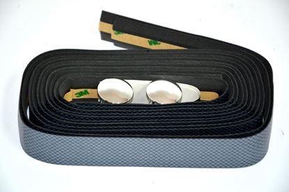 Imagem de Fita guiador Velo carbono - cinza