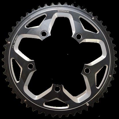 Imagem de Roda pedaleira FC-RS500 preta 110x52T
