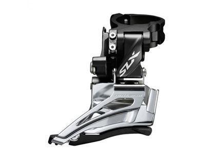 Imagem de Mudança frente SLX 7000 2x11v c/abraçadeira alta Dual Pull