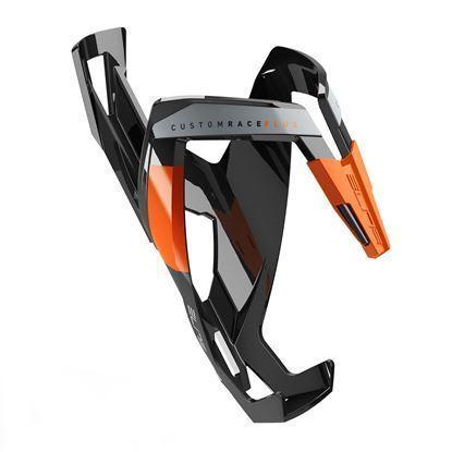 Imagem de Grade bidon CUSTOM RACE PLUS preto/laranja glossy