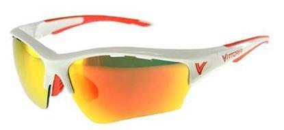 Imagem de Oculos VE RACING branco/vermelho