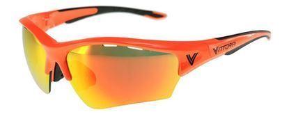 Imagem de Oculos VE RACING vermelho/preto