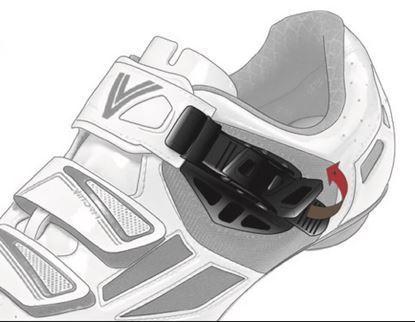 Imagem de Fecho sapato microlock Vittoria CRS preto direito (uni.)