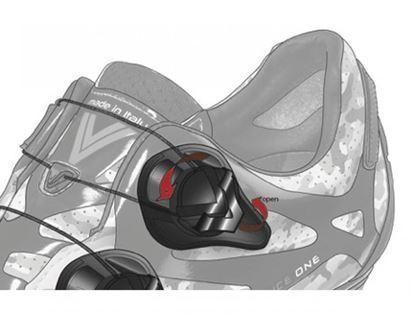 Imagem de Fecho sapato rotativo Vittoria CNS preto esquerdo (uni.)