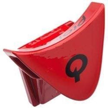 Imagem de Clip de selim U-CLIP vermelho