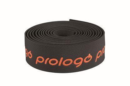 Imagem de Fita Prologo ONE TOUCH preto c/ logo laranja fluo