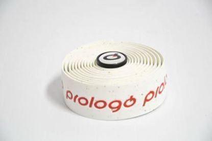 Imagem de Fita de guiador Prologo PlainTouch branco c/ logo vermelho