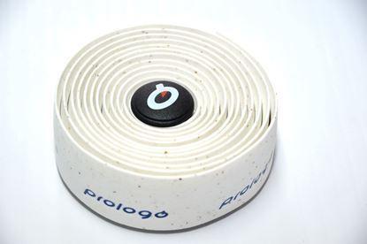 Imagem de Copy of Fita de guiador Prologo PlainTouch branco c/ logo azul