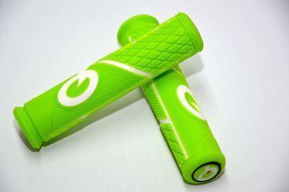 Imagem de Punhos Prologo Light Grip verde/branco