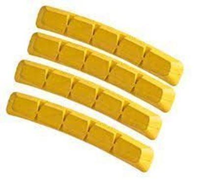 Imagem de Calços Swisstop RX Plus (4 pcs) Yellow King