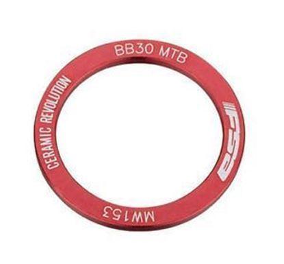 Imagem de Espaçador afinação FSA BB30 MTB direito vermelho