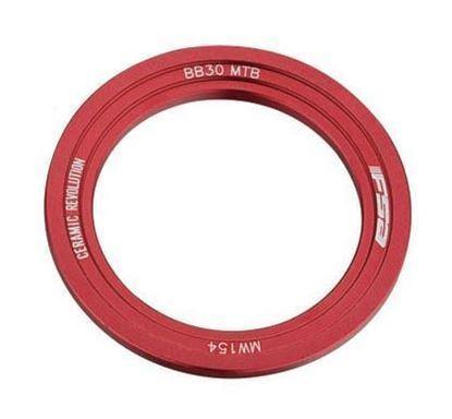 Imagem de Espaçador FSA de ajuste BB30 MTB esquerdo - vermelho
