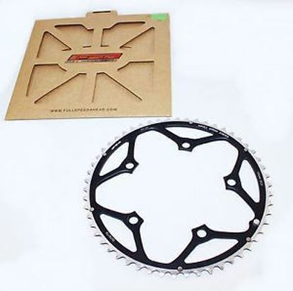 Imagem de Roda pedaleira FSA preto, 130x49T WA054