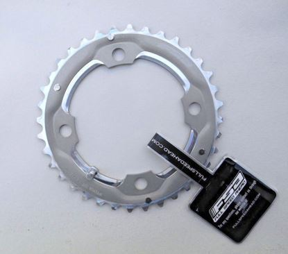 Imagem de Roda pedaleira FSA cinza alu 104x36T D10 WB263