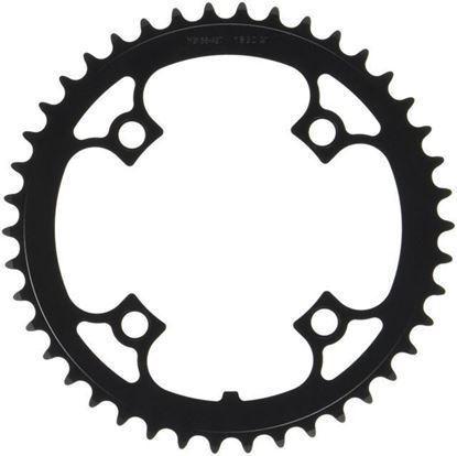 Imagem de Roda pedaleira FSA Alu preto 104x42T WB156