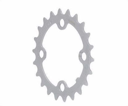 Imagem de Roda pedaleira FSA cinza CNC 64x22T WC008