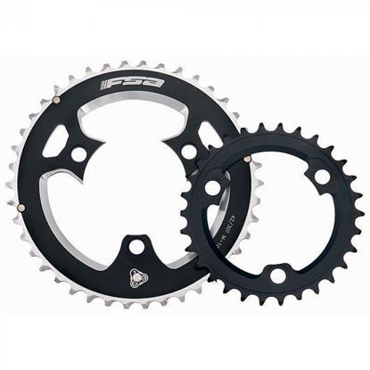 Imagem de Roda pedaleira FSA SLK MTB preta X10 WA344 - 86x39T