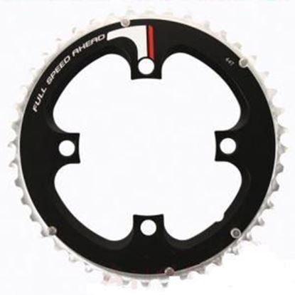 Imagem de Roda pedaleira FSA Super MTB preto alumínio 94x44T