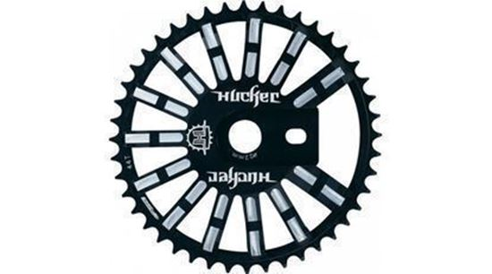Picture of Roda pedaleira FSA BMX HUCKER preto - 42T