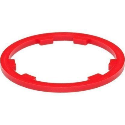 Imagem de Espaçador de carretos resina vermelho Shimano 10v