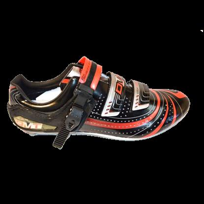Imagem de Sapato Mag-Force preto/vermelho - sola magnésio