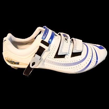 Imagem de Sapato Mag-Force branco/azul - sola magnésio