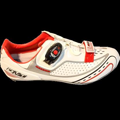 Imagem de Sapato FUSION branco/vermelho - sola carbono