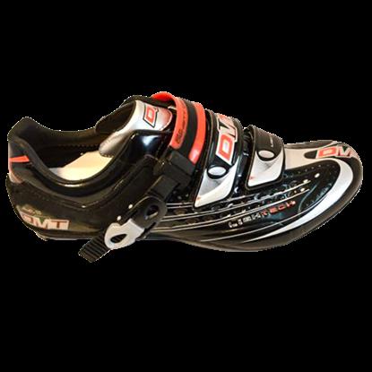 Imagem de Sapato FLASH preto/vermelho - sola carbono