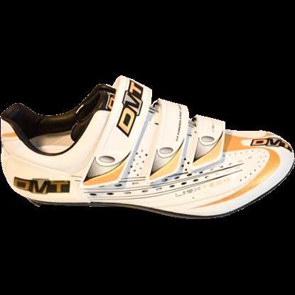 Imagem de Sapato KYOMA branco/dourado - sola carbono - 40