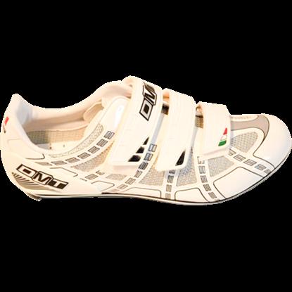 Imagem de Sapato RADIAL 2.0 branco/cinza - sola carbono