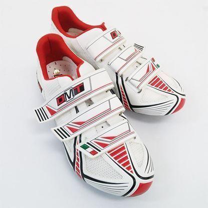 Imagem de Sapato DMT Vision 2.0 branco/vermelho
