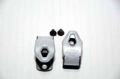 Imagem de Fechos milimétricos preto/cinza (par)