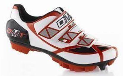 Imagem de Sapato DMT Robur branco/vermelho