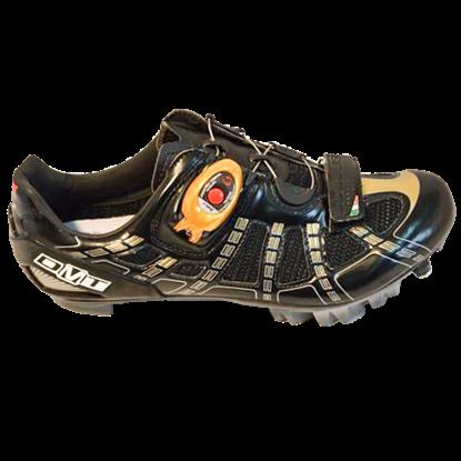 Imagem de Sapato X-RIDE preto/dourado - sola carbono