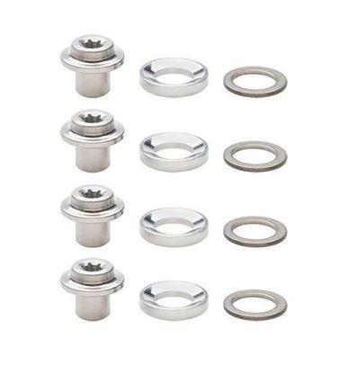 Imagem de Conjunto porca e anilhas porta-calços (4 conjuntos)