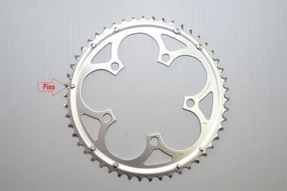 Imagem de Roda pedaleira Veloce cinza 110x50T 10v >2006