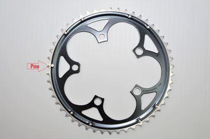 Imagem de Roda pedaleira Veloce Infinitive preta 110x50T 10v >2006