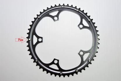 Imagem de Roda pedaleira Mirage preta 135x53T 9/10v >2006