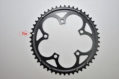 Imagem de Roda pedaleira Mirage preta 110x50T 9/10v >2006