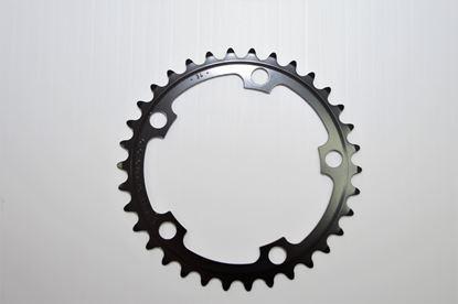 Imagem de Roda pedaleira Mirage preta 110x34T 9/10v >2006