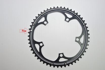 Imagem de Roda pedaleira Mirage preta 135x53 9/10v >2004