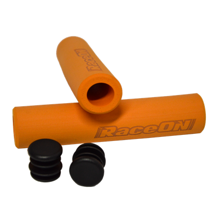 Imagem de Punhos Raceon Silicone Foam - laranja