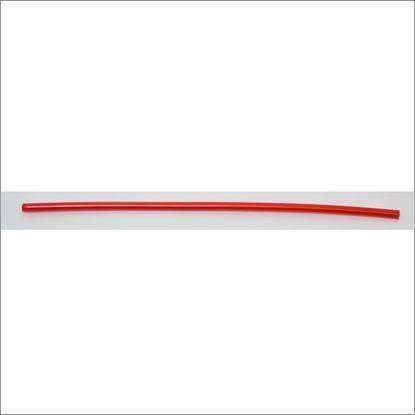 Imagem de Espiral 4mm mudança, vermelha (metro)
