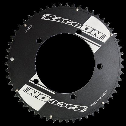 Imagem de Roda Pedaleira Time Trial 7075 CNC Black BCD 130 11v - 55T