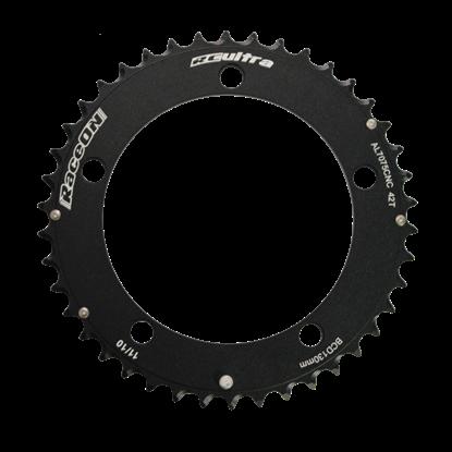 Imagem de Roda Pedaleira Time Trial 7075 CNC Black BCD 130 11v - 42T (interno)