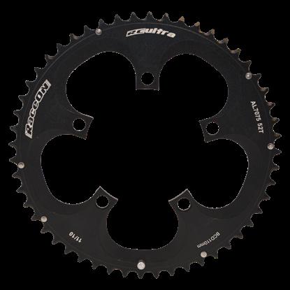 Imagem de Roda Pedaleira Shimano RC Ultra 7075 CNC Black BCD 110 - 10/11v - 46T