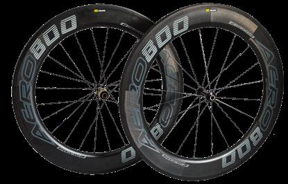 Imagem de Rodas RaceOn Aero800 Carbon par - 1850 gr. pneu